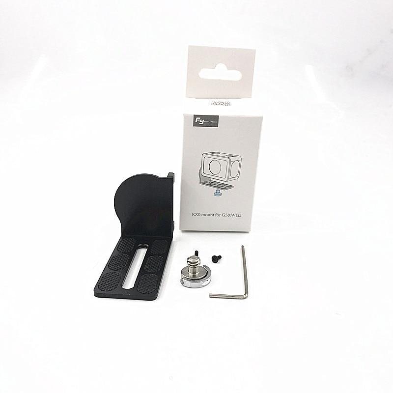 Feiyu RX0 adapter mount clamp action camera holder for FEIYUTECH G5 G5 WG2 Gimbal Sony RX0 5
