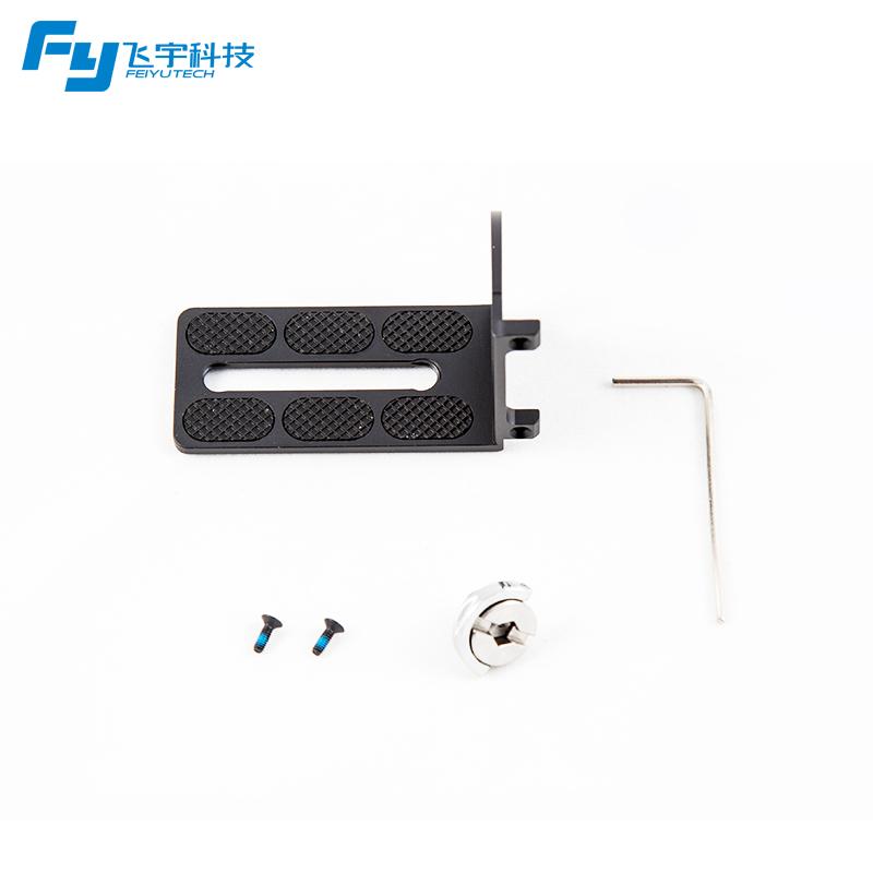 Feiyu RX0 adapter mount clamp action camera holder for FEIYUTECH G5 G5 WG2 Gimbal Sony RX0 7