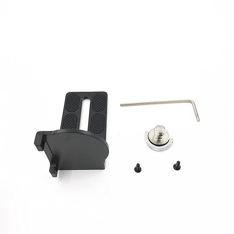 Feiyu RX0 adapter mount clamp action camera holder for FEIYUTECH G5 G5 WG2 Gimbal Sony RX0 3