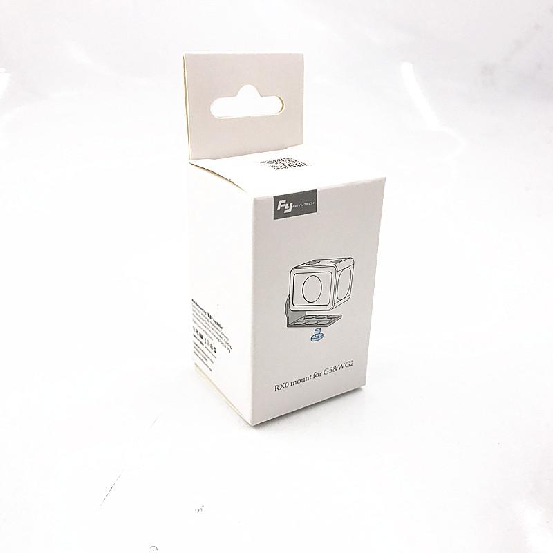 Feiyu RX0 adapter mount clamp action camera holder for FEIYUTECH G5 G5 WG2 Gimbal Sony RX0 6