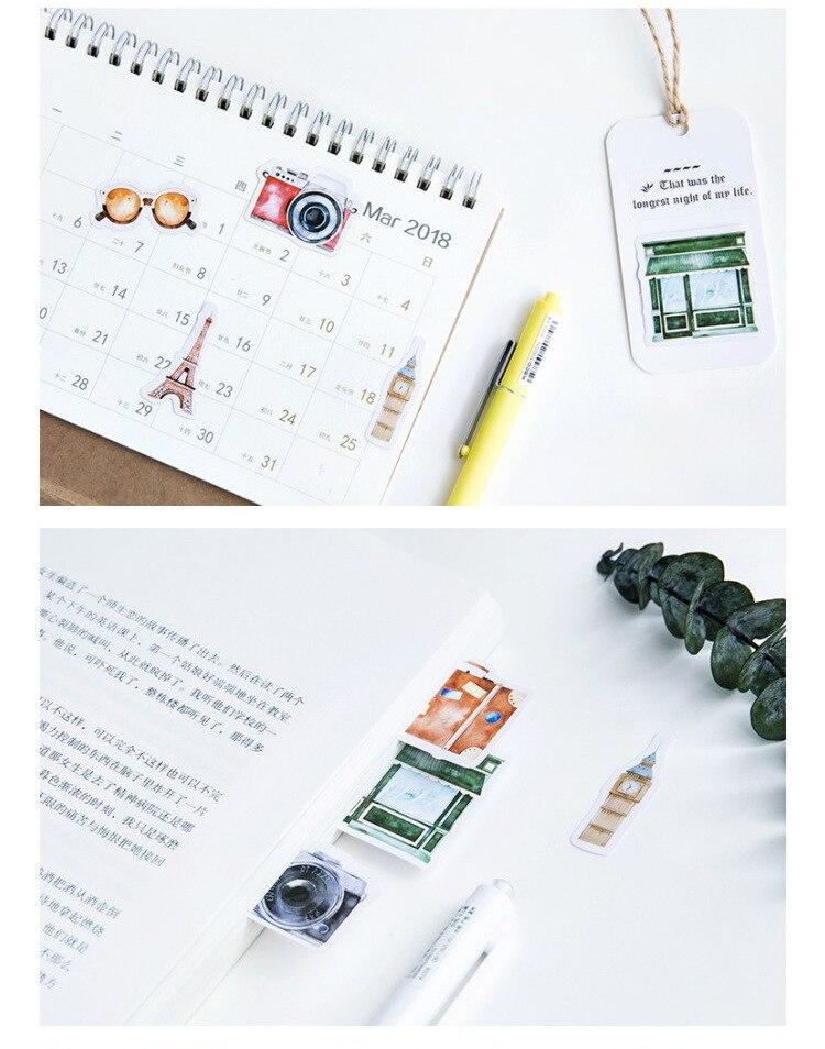 Cute Travel Decorative Stickers 6